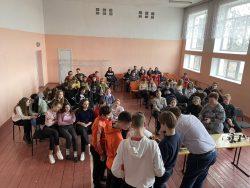 Зустріч з учнями Калинівської ЗОШ № 2 та Данилівської ЗОШ