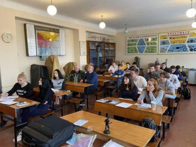 Зустріч з учнями в м. Бердичів